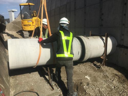 暗渠排水管設置状況